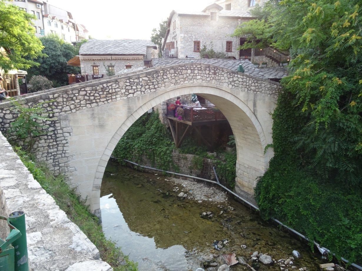 Puente pequeño de Mostar (Viaje al Sol)